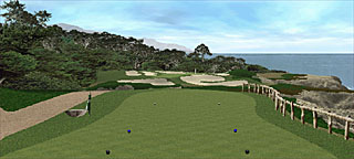 Cypress Point's Hole 15